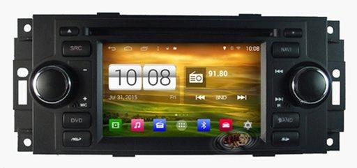 Sistem navigatie Chrysler / Dodge / Jeep cu Android, platforma S160