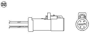 Sonda Lambda FORD FIESTA VI 1.4 LPG 09- - OEM-NGK: