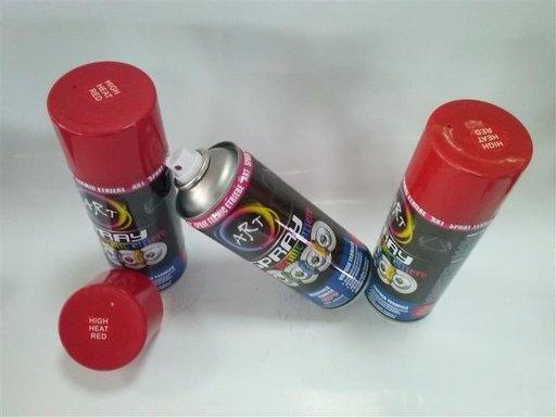 Spray Vopsea ROSU Rezistent Termic ETRIER TAMBUR AL-TCT-5435