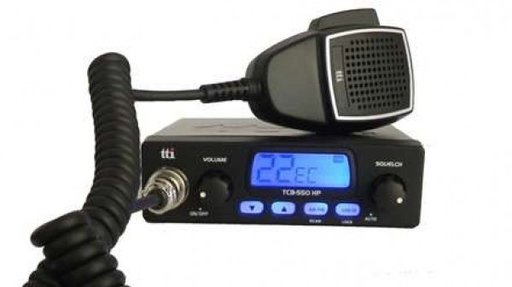 Statie radio CB TTi TCB-550HP cu squelch automat