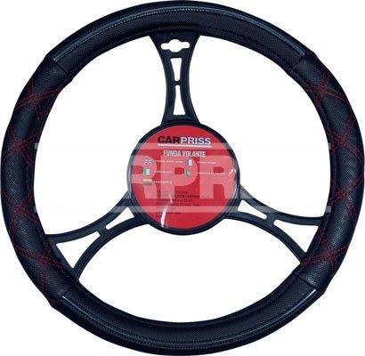 Steering Wheel Cover(Black/Chrome/R - CARPRISS - 7