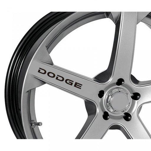 Sticker jante - Dodge (set 4 buc.)