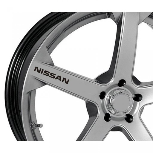 Sticker jante - Nissan (set 4 buc.)