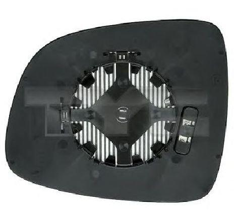 Sticla oglinda, oglinda retrovizoare exterioara stanga FIAT SEDICI ( FY ) 06/2006 - 2019 - producator TYC 335-0016-1 - 305560 - Piesa Noua