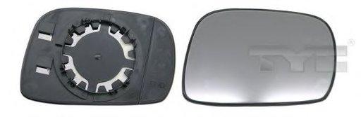 Sticla oglinda, oglinda retrovizoare exterioara SUZUKI WAGON R+ (MM) (2000 - 2016) TYC 325-0055-1 - piesa NOUA