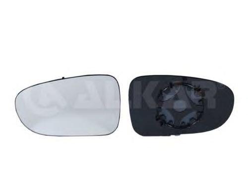 Sticla oglinda retrovizoare exterioara VW SHARAN/ALHAMBRA/GALAXY 95-06 - OEM-ALKAR: 6401130|ALK6401130 - Cod intern: W02380163