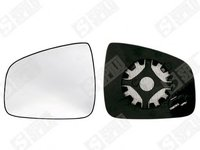 Sticla oglinda stanga/dreapta cu incalzire Dacia 6001549716 , 6001549717