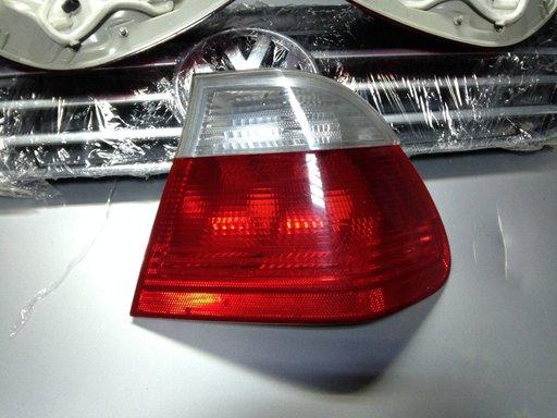 Stop dreapta BMW E46 cu semnal alb