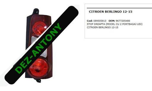 Stop dreapta Citroen Berlingo 2012-2015