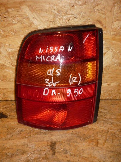 Stop dreapta stanga Nissan Micra, model 2 usi