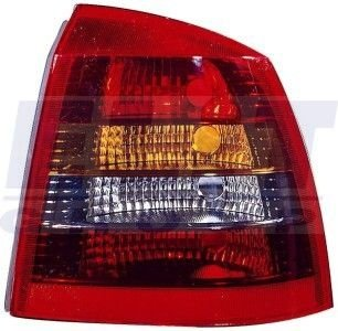 Stop lampa DR Opel Astra G Hatchback (02.98-01.05), DEPO, 4421916RUE