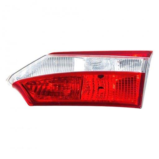 Stop spate lampa Toyota Corolla (E17), 07.2013- model SALOON, partea Dreapta, partea inteRioara, fara suport becuri, tip bec P21W+W16W+W5W, Farba
