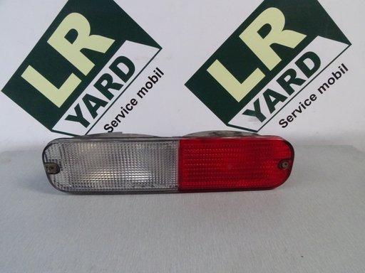 Stop stanga din bara alb cu rosu Land Rover Freelander 1998-2003