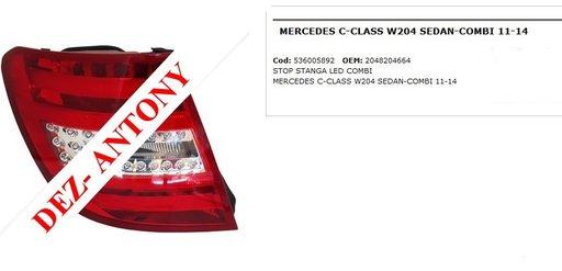 Stop stanga Led combi Mercedes C Class W204