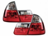 STOPURI CLARE BMW E46 TOURING FUNDAL RED/CROM -COD FKRL9217