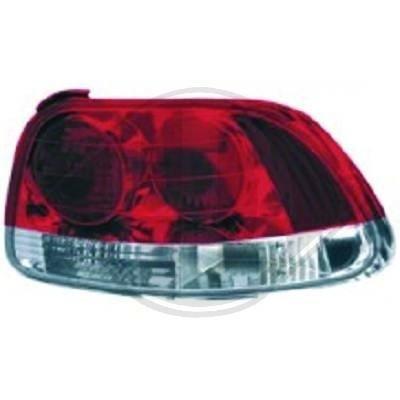 STOPURI CLARE HONDA CIVIC CRX DEL SOL FUNDAL RED -COD 5205897