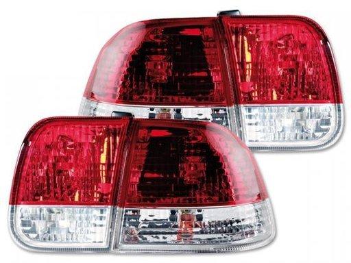 STOPURI CLARE HONDA CIVIC RED/CROM -COD FKRL07043