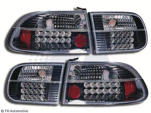 STOPURI CU LED HONDA CIVIC FUNDAL BLACK -COD FKRLXLHO8029