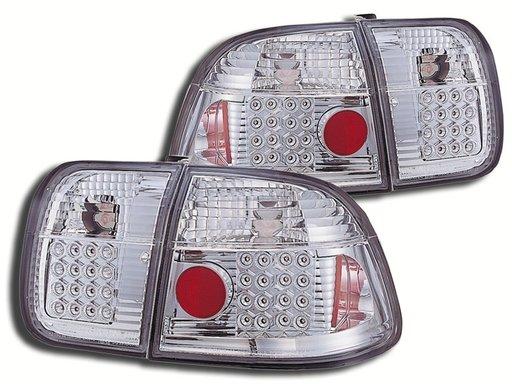 STOPURI CU LED HONDA CIVIC FUNDAL CROM -COD FKRLXLHO8017