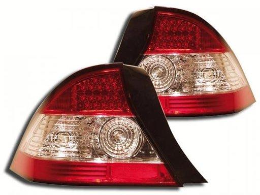 STOPURI CU LED HONDA CIVIC FUNDAL RED -COD FKRLXLHO115