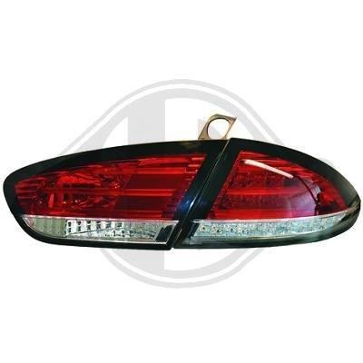 STOPURI CU LED SEAT LEON/ALTEA FUNDAL RED/CRISTAL-COD 7432990
