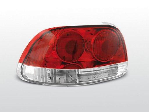 Stopuri Honda CRX Rosu Alb