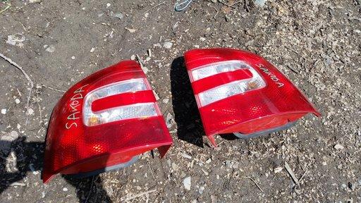 Stopuri Lampi Triple Skoda Octavia 2 Breck 2004 2005 2006 2007