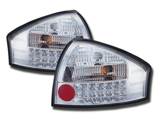 STOPURI LED AUDI A6 4B FUNDAL CROM -COD FKRLXLAI80