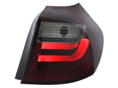 Stopuri LED BMW seria 1 E87 07-11 Rosu/Fumuriu - RB28ASLRS