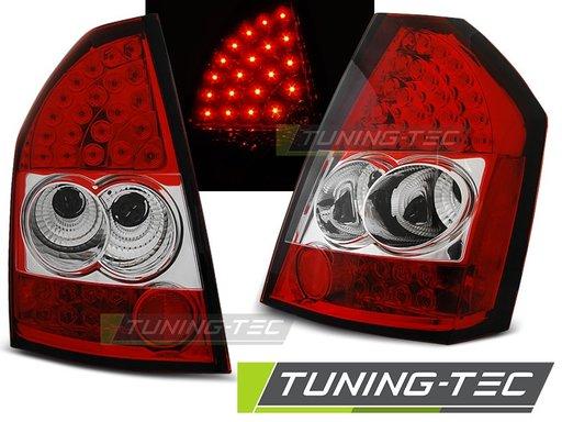 Stopuri LED CHRYSLER 300C/300 09-10 Rosu/Alb