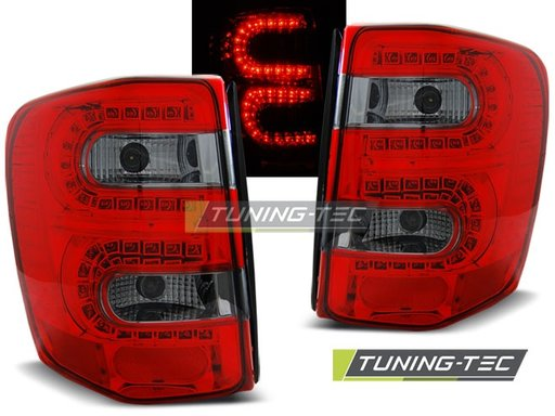 Stopuri LED CHRYSLER Jeep Grand CHEROKEE 99-05.05 Rosu/Fumuriu