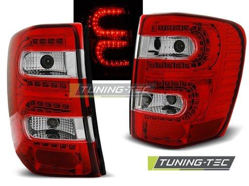 Stopuri LED CHRYSLER Jeep Grand CHEROKEE 99-05.05 Rosu/Alb