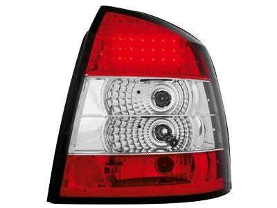 Stopuri LED Opel Astra G Lim..98-04 rosu/cristal - RO03LRC