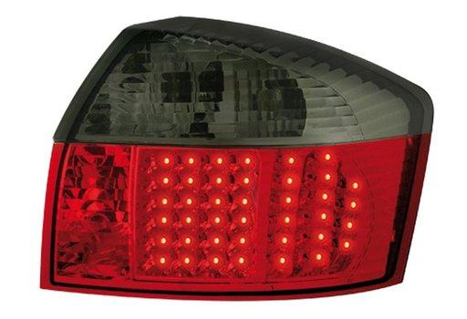 STOPURI LED PT AUDI A4 8E ROSU-NEGRU