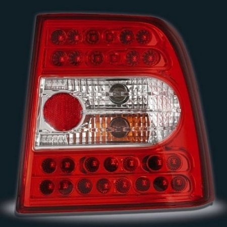 STOPURI LED VW PASSAT 3B FUNDAL ROSU-CRISTAL -cod