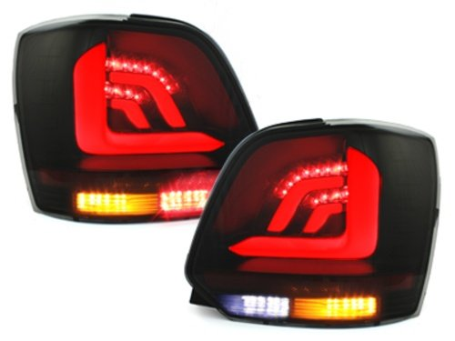 Stopuri LED VW Polo 6R 09+_negru fumuriu