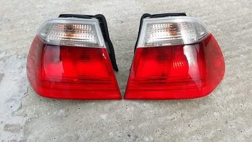 Stopuri pe alb BMW E46 stare FOARTE BUNA