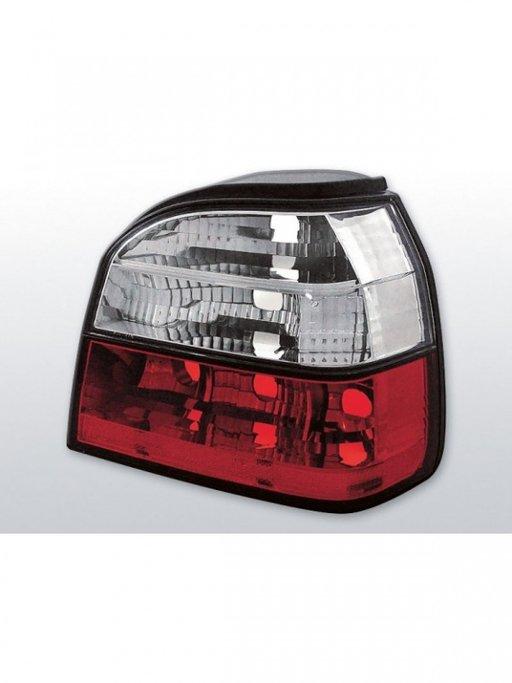 Stopuri VW Golf 3 model Rosu Alb