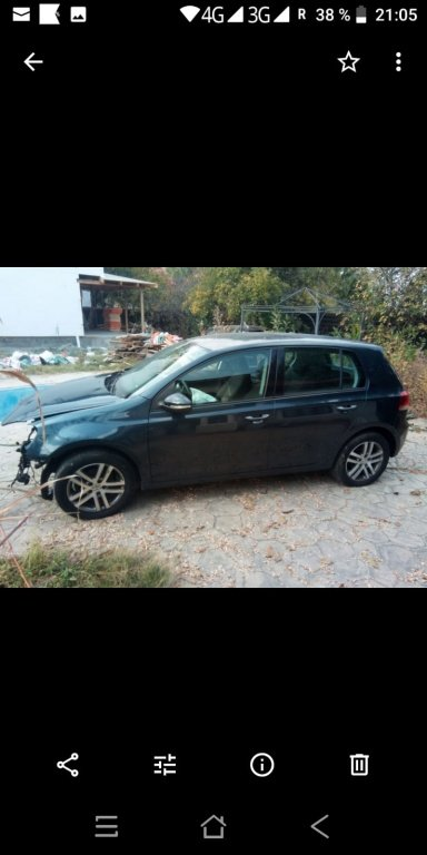 Stopuri VW Golf 6 2011 hatchback 1.4 tsi