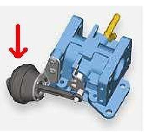 Supapa de control vacuum,EGR SKODA SUPERB combi 3T5 PRODUCATOR WAHLER 710336