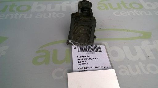 Supapa EGR Renault Laguna II 1.9 DCI