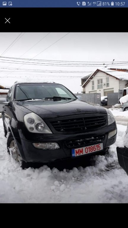 Supapa EGR SsangYong Rexton 2005 SUV 2.7 XDI