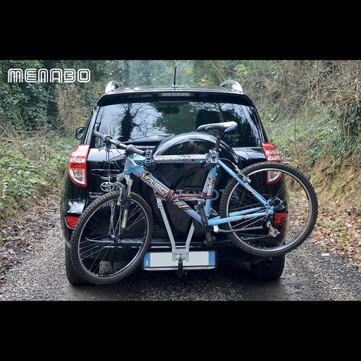 Suport biciclete MENABO MARIUS pentru 3 biciclete cu prindere pe carligul de remorcare