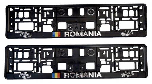 Suport numar inmatriculare ROMANIA 2buc./set
