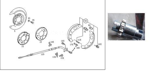 Surub reglaj saboti Mercedes Sprinter -Original Mercedes