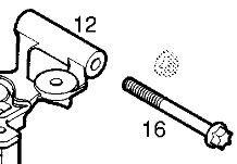 Surub tampon motor original GM