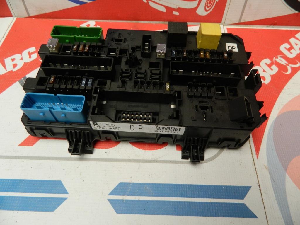 Tablou sigurante Opel Astra H 1.4 16 V COD:13181278DP