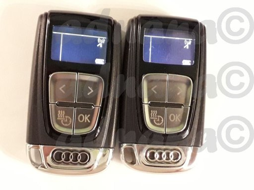 Telecomanda Webasto ORIGINALA Audi 4H0963511C 4H0 963 511 C incazilre auxiliara