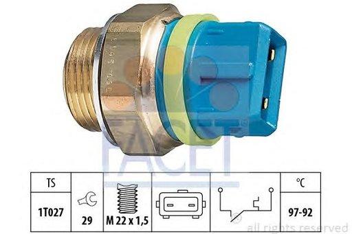 Termocupla radiator, producator FACET pentru CITROËN FIAT LANCIA PEUGEOT oem : 9629968880 1264.26