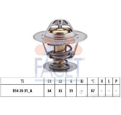 Termostat, lichid racire AUDI A6 ( 4A, C4 ) 06/1994 - 10/1997 - producator FACET 7.8223S - 300258 - Piesa Noua